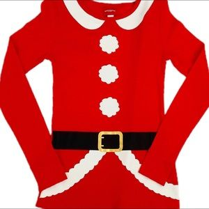 Tops - Cute Santa Clause Christmas Top XS Misses